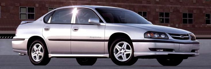 2001 Chevy Impala-Airport car