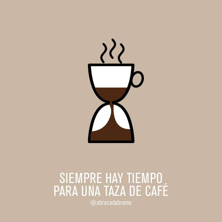 Siempre hay tiempo para una taza de #cafe | Los 5 minutos ...
