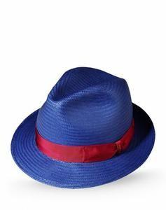 Borsalino cappelli e berretti uomo blu scuro a 145,00 euro