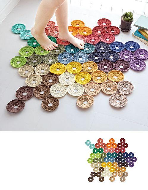 crochet rug mat (free pattern)