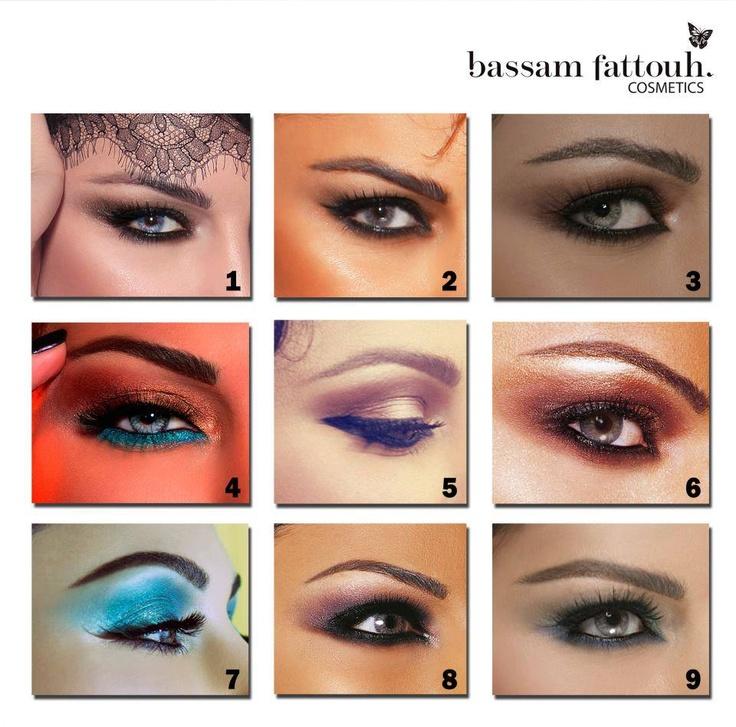 Haifa Wehbe's Make-up Looks by Bassam Fattouh
