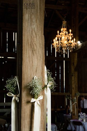 Add to your Rustic Wedding Design Display with these perfect baby's breath decor hangers!