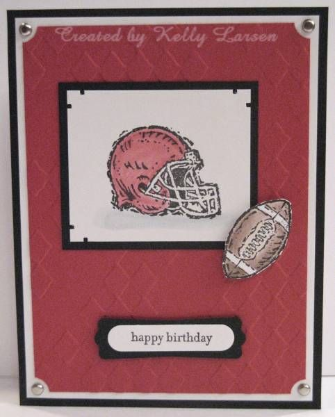 642 best cards men images on pinterest masculine cards galleries football card football birthdaysports m4hsunfo