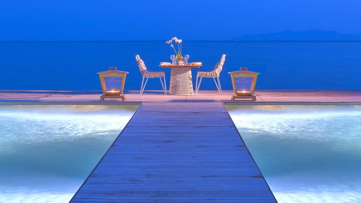#Private Dining At Buddha Bar Beach Santa Marina, Mykonos
