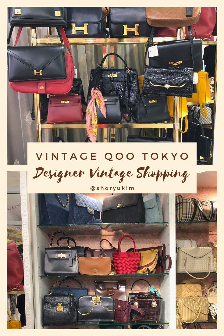 Best Vintage Designer Shop In Tokyo Japan Hermes Chanel Ysl Dior Tokyo Shopping Vintage Chanel Harajuku Station