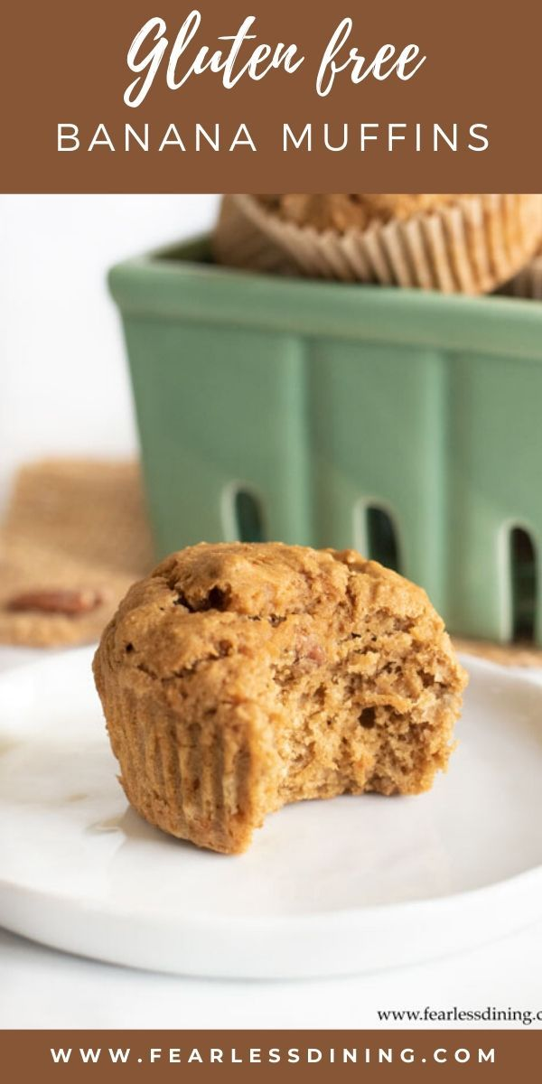 These Light And Fluffy Gluten Free Banana Muffins Make A Delicious