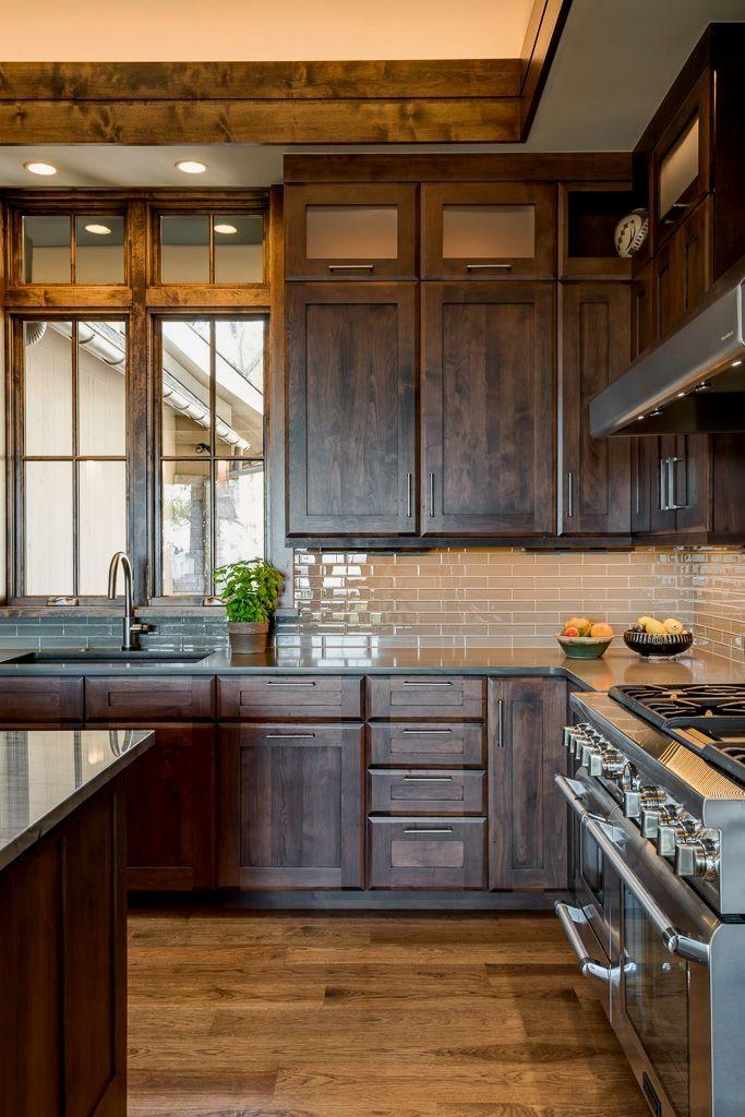 walnut cove residence allard roberts interior design in 2020 rustic kitchen cabinets on kitchen cabinets design id=26061
