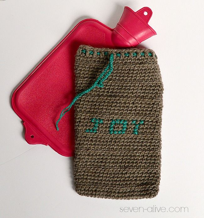 Free Crochet Pattern For Hot Water Bottle Cover : 17 Best images about Crochet - Cozies on Pinterest ...