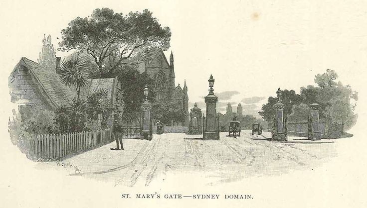 St Marys Gate - Sydney Domain