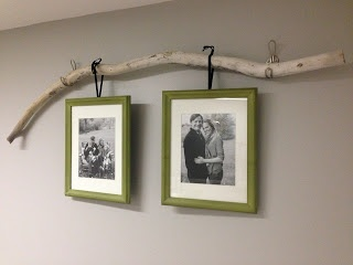 Tree Branch Picture Frame Holder