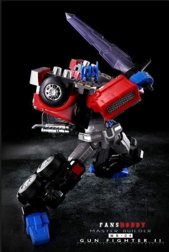 New Transformers FansHobby Master Builder MB-04 Gunfighter II Optimus Prime MISB