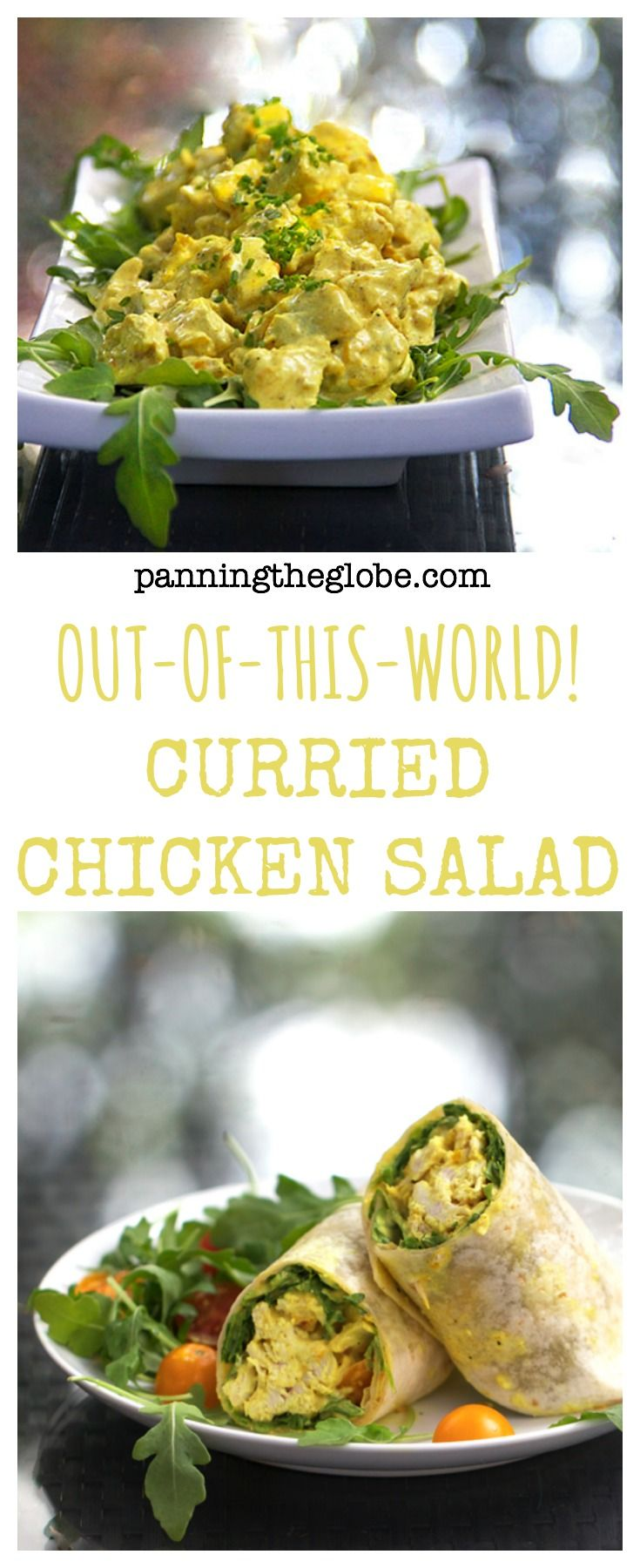 Save this recipe for your leftover turkey! It's truly the best chicken/turkey salad ever! #Thanksgiving #Turkey