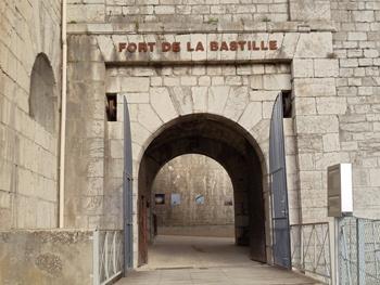 the bastille grenoble france