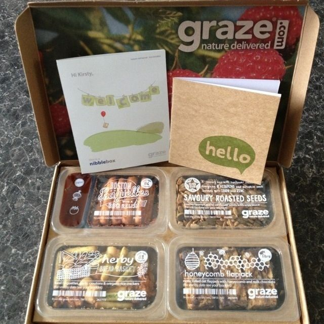 Graze box - Review - mytwomums.com