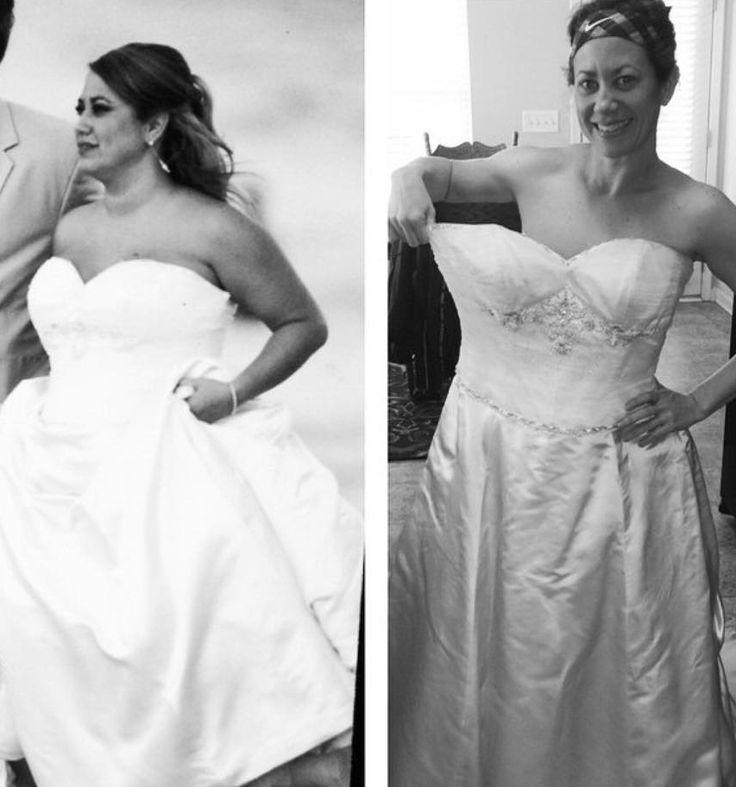 30 Kilo sind weg! So hat Kristin es geschafft: http://www.gofeminin.de/abnehmen/kristins-abnehmgeschichte-s1523106.html #vorhernachher
