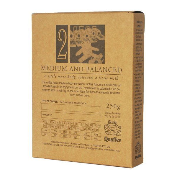 This seasonal African blend combines the best of Quaffee's current African…
