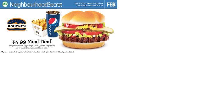 Get your Harvey's coupon at http://neighbourhoodsecret.net