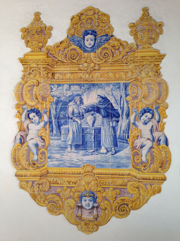Claustros da Igreja da Misericórdia de Aveiro (painel de 1930)