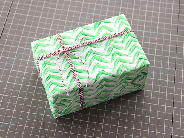 DIY Network shows you how to create custom wrapping paper for Christmas using paint, markers, craft paper, and butcher paper.