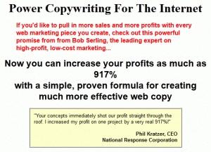Producto: Power Copywriting For The Internet by Bob Serling     Precio Oficial: $147 USD     Precio en Comunidad-Seo: GRATIS     Descargalo desde AQUÍ: http://comunidad-seo.com/