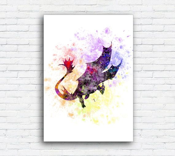 Toothless Fury How to train your DRAGON by MulticolourArt on Etsy