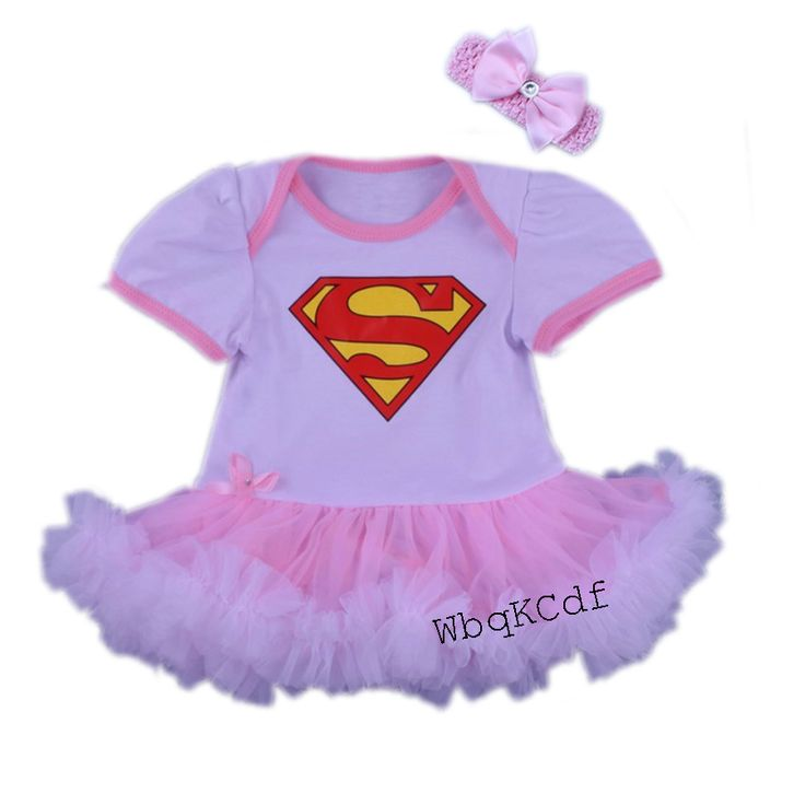 2016 New Girl Children Climbing Clothes Short Sleeve Minnie Face Romper Tutu Dress Headband Two piece. Click visit to buy #BabyGirlClothingSet #BabyGirl #ClothingSet