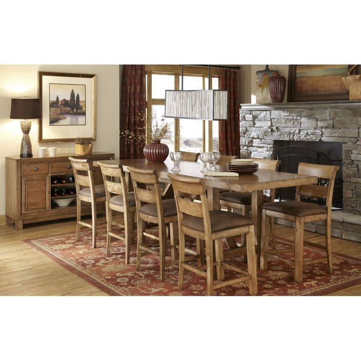 Legacy Logan 9 Piece Counter Height Dining Table Set   $2569.9