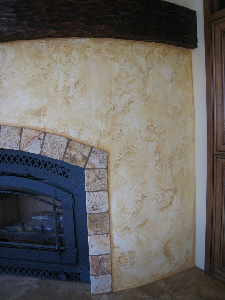 italian stucco colors | That Old World Look… Dining Room Plaster | Fabulously Finished
