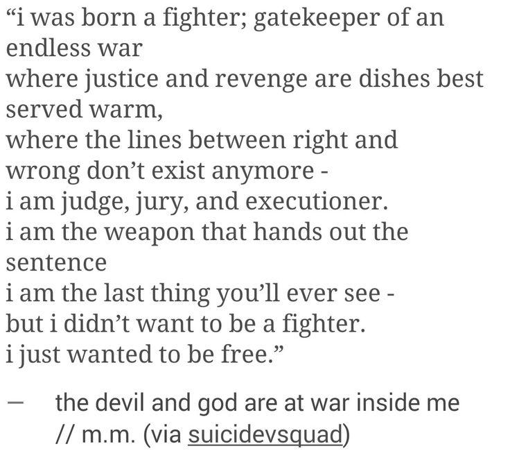 http://finndamerons.tumblr.com/post/120152931306/i-was-born-a-fighter-gatekeeper-of-an-endless-war