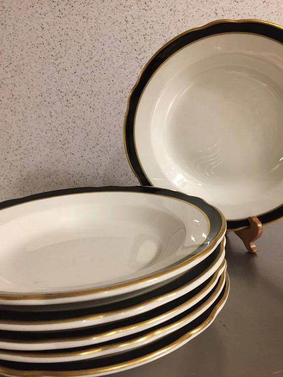Vintage Restaurant Ware Jackson China Made USA Set 6 Soup & 63 best Retro Diner images on Pinterest | Retro diner China mugs ...