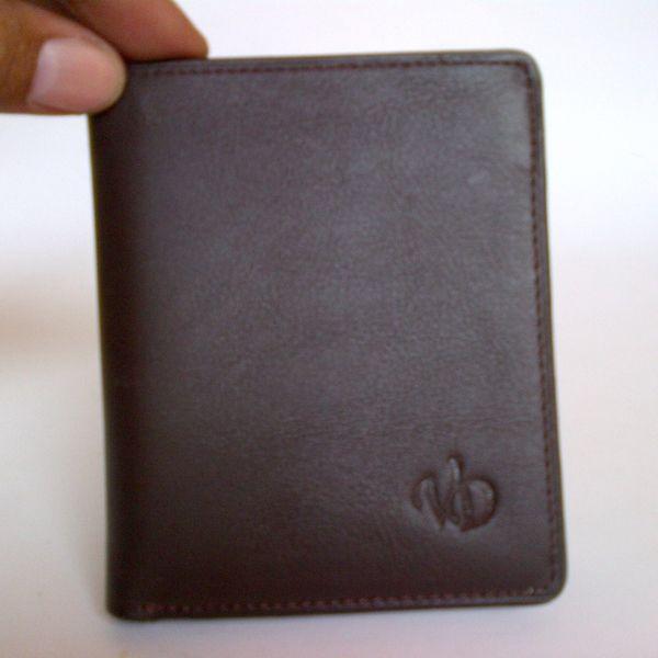 Dompet kulit asli pria L-3 coklat