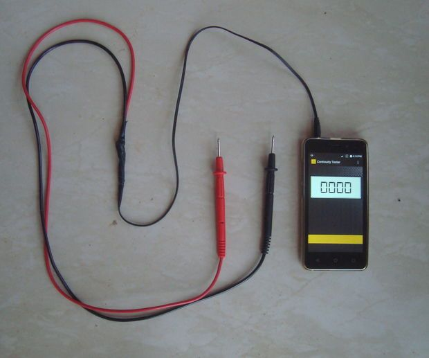 Continuity Tester (Using Android Phone)