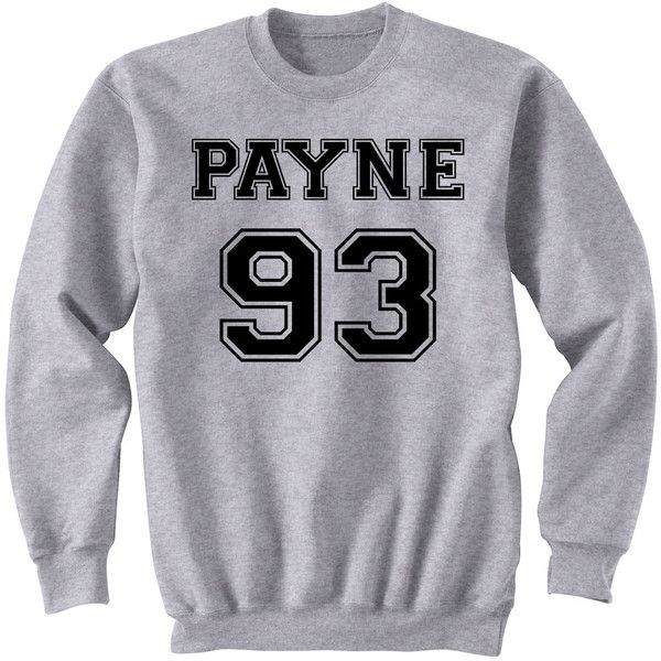 ProFangirlShop Payne 93 Sweatshirt Liam Payne One Direction Sweater... ($24) ❤ liked on Polyvore featuring tops, hoodies, sweatshirts, black, women's clothing, long shirts, crew shirt, black sweatshirt, crew sweatshirt and sweatshirts hoodies
