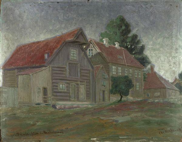 Xan Krohn - Gamle huse i Maridalsveien