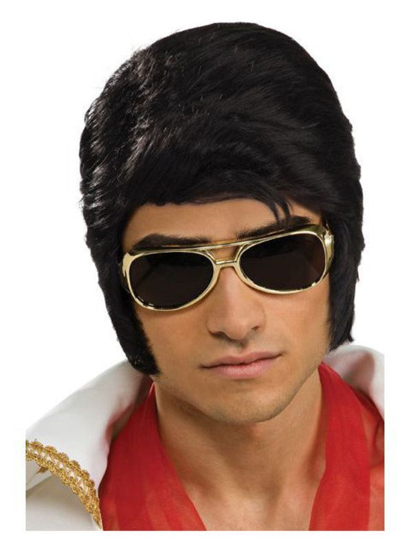c92e9e4af68d Check out Elvis Deluxe Wig - 50s Wigs   Halloween Accessories from Costume  Super Center