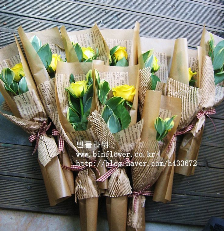 78+ images about Wrapping Bouquet on Pinterest | New life, Flower and Flower basket