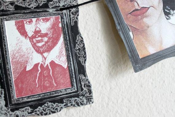 ghirlanda decorazione galleria in miniatura no 2 di archivioGotico, €8,00