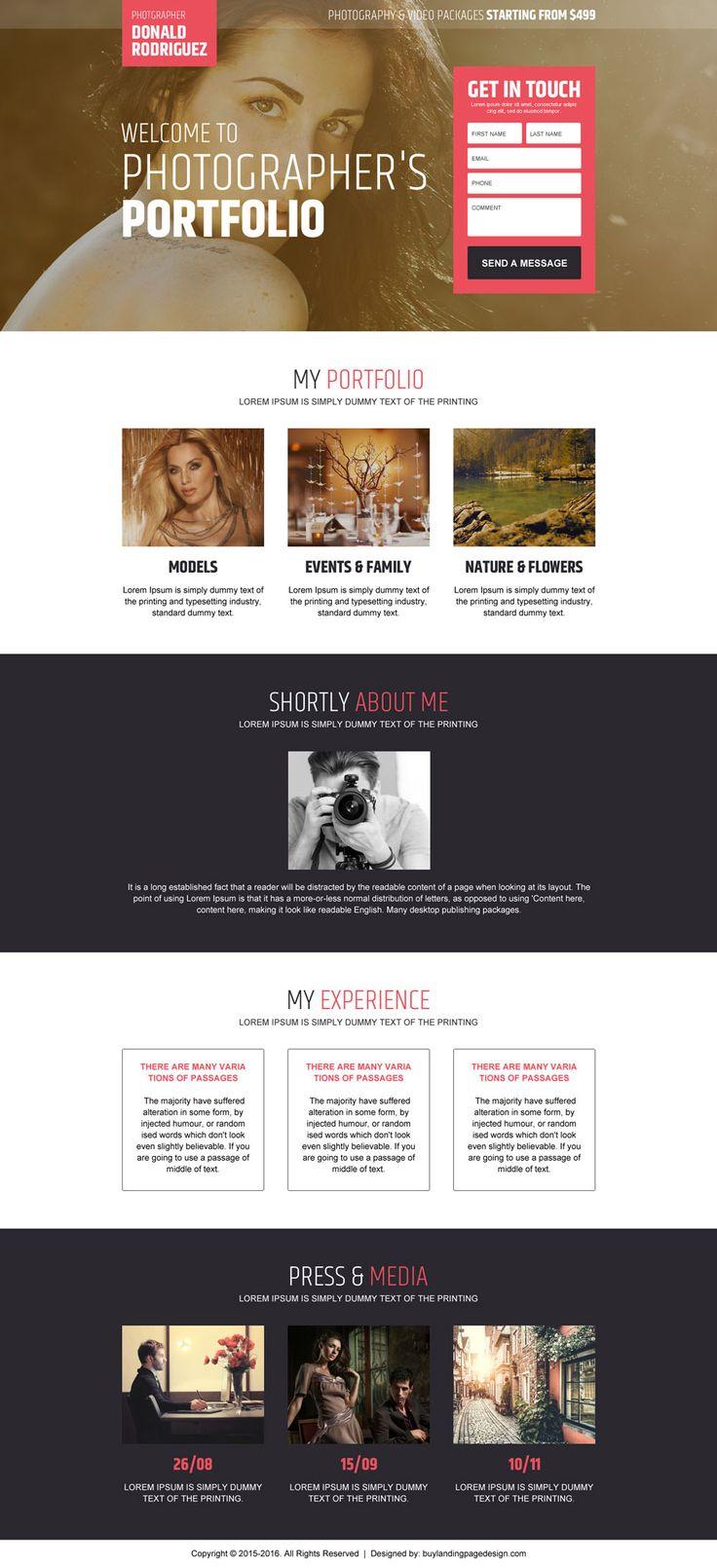photographers portfolio converting landing page design https://www.buylandingpagedesign.com/buy/photographers-portfolio-converting-landing-page-design/1900