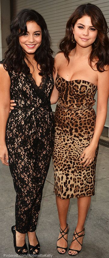Vanessa Hudgens and Selena Gomez Street Style | Leopard and Lace
