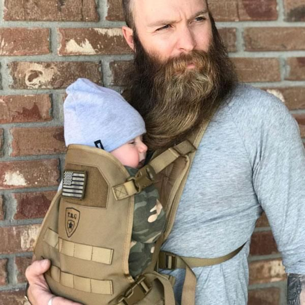 Front Baby Carrier by Mission ... Baby Carrier for Dads Men/'s Baby Carrier