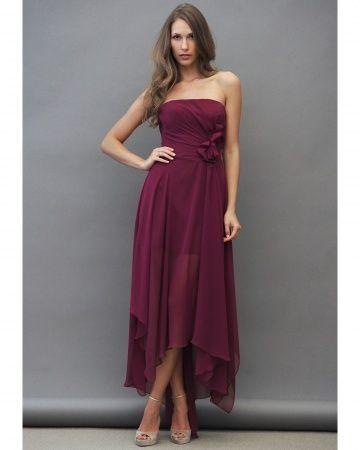 Maid of Honor Dress Jim Hjelm Occasions,  /Cranberry Bridesmaid Dresses - Martha Stewart Weddings Fashion & Beauty