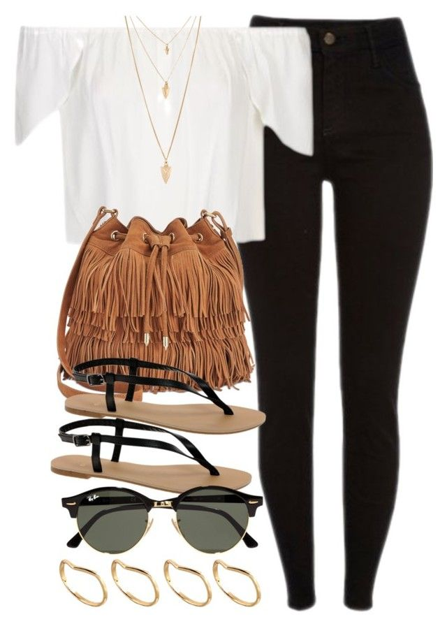 """""""Style  #10516"""" by vany-alvarado ❤ liked on Polyvore featuring Topshop, Sam Edelman, ASOS, Ray-Ban and Forever 21"""