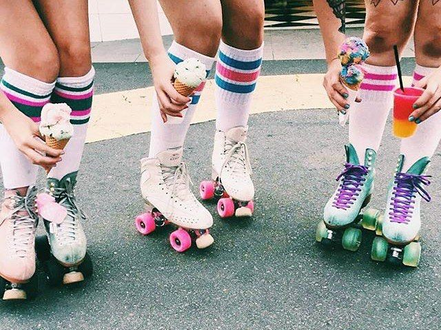 What's your #flavor ? @ally.snow.x #summer of #skating…