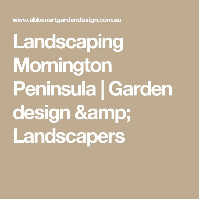 Landscaping Mornington Peninsula | Garden design & Landscapers