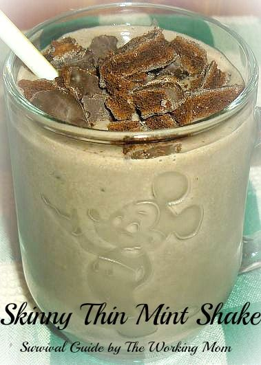 Skinny Thin Mint Shake (95 calories)1/2 cup no fat cottage cheese 1 ...