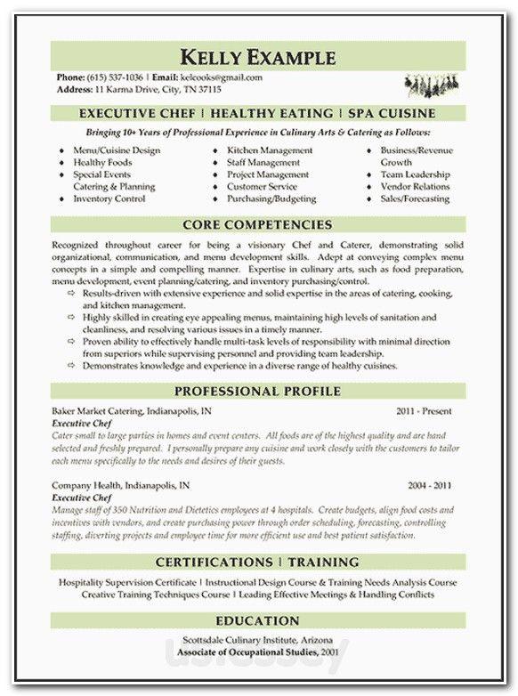 descriptive resume examples