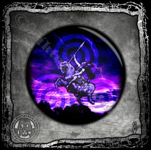 Odin's Daughter Valkyrie - Badge/Pin/Button - Viking Division