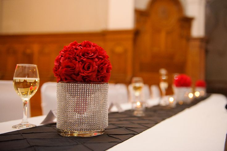 Simple Rose ball with Bling by Unico Decpr Photo Taken by Phillip Boudreau