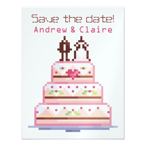 Nerdy Wedding Invites: 12 Best Images About Geek Wedding Invitations On Pinterest