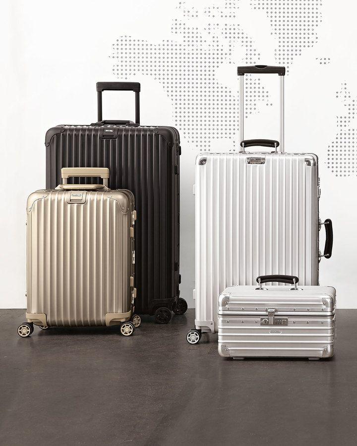 Rimowa Topas Titanium Luggage